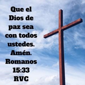Romanos 15.33