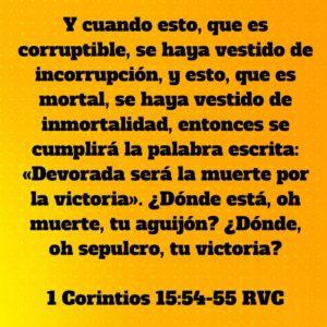 1 Corintios 15.54-55