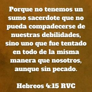 Hebreos 4.15
