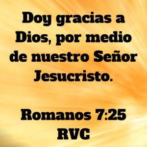 Romanos 7.25