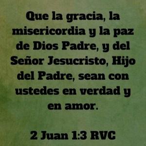 2 Juan 1.3