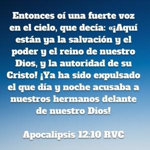Apocalipsis 12.10