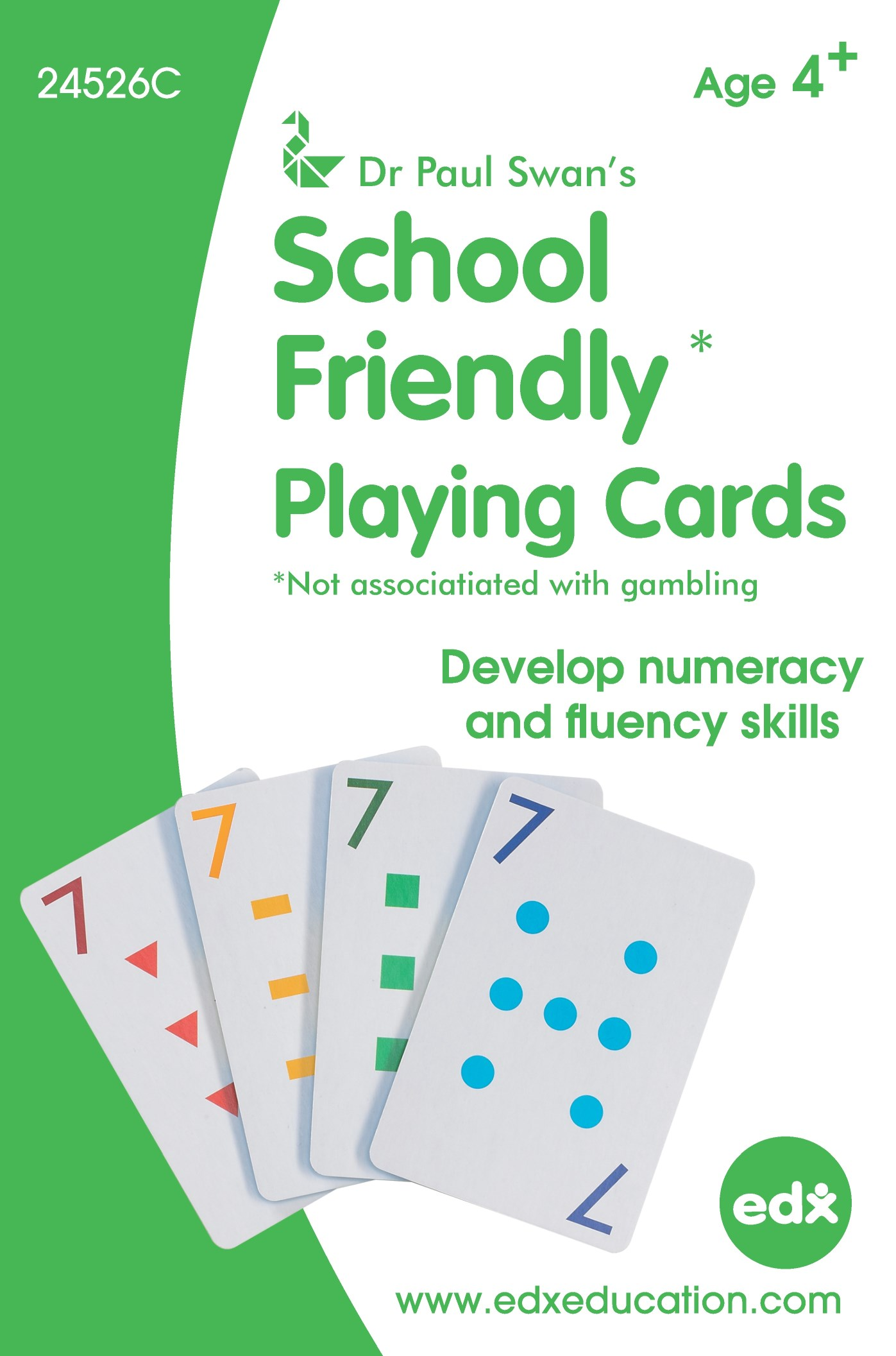 School Friendly Cards Individual Pack