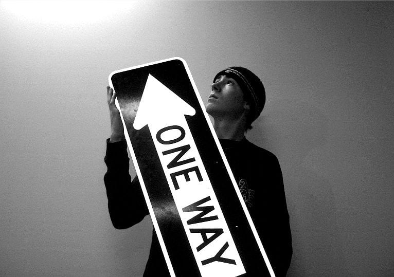 one way sign - Finding a Way Out for the School Dropout