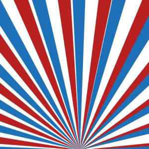 Comp 75695540 - Red, blue and white vector rays