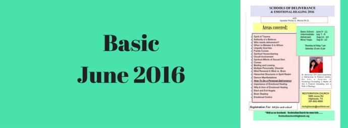 BasicJune 2016