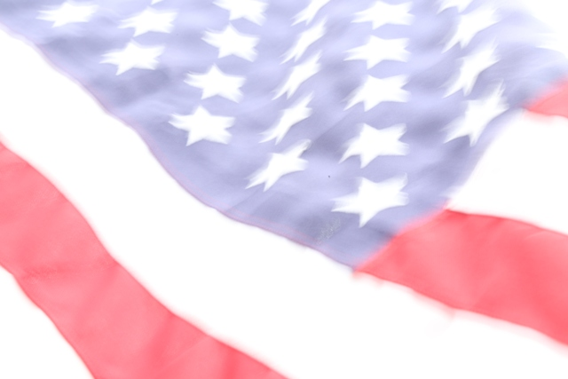 American Flag - Zooming Fail