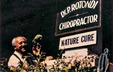 Dr. Rotondi business card photo