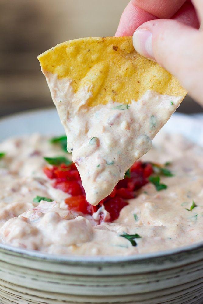 Vegan queso dip - Dr. Pingel