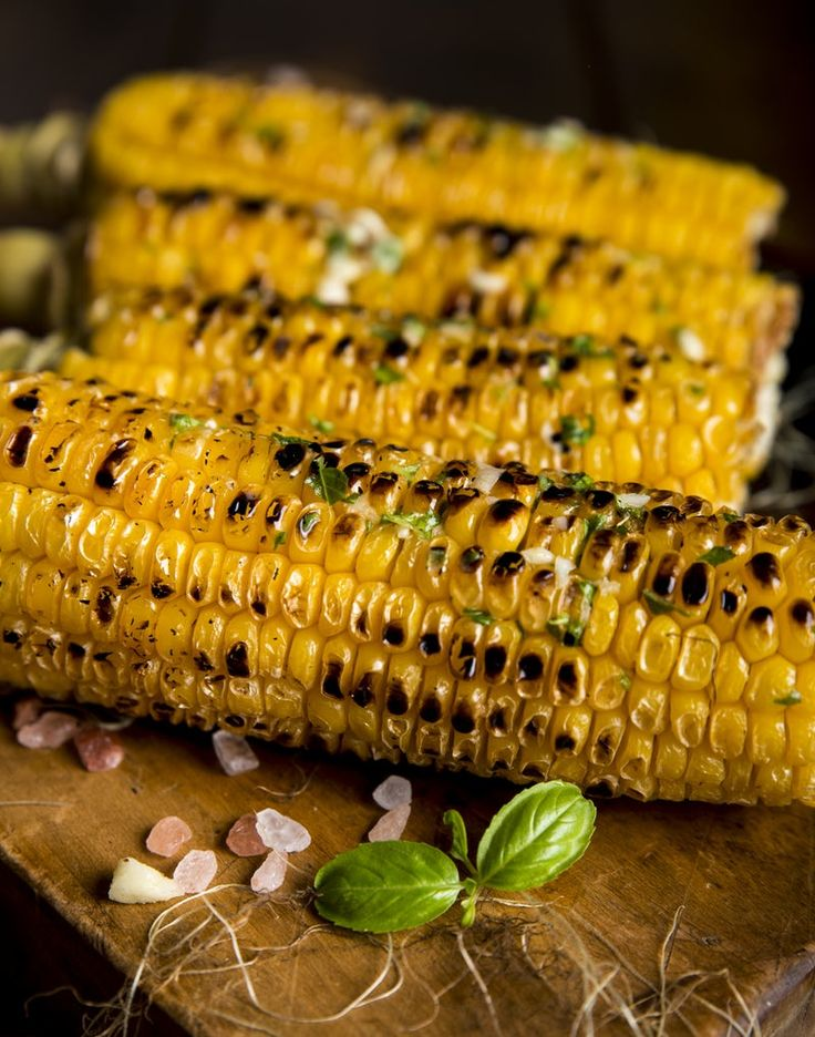 Grilled corn on the cob - Dr. Pingel