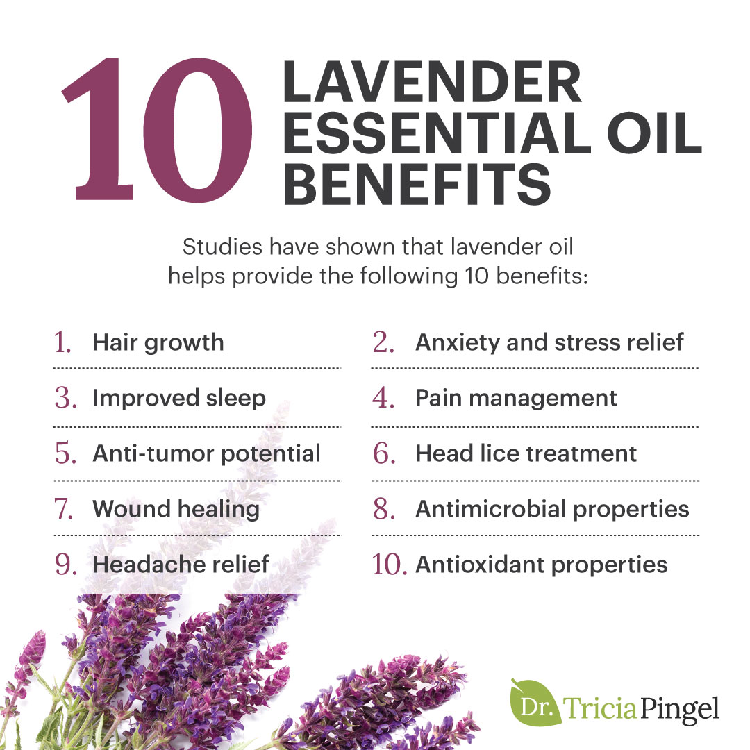 Lavender essential oil benefits - Dr. Pingel