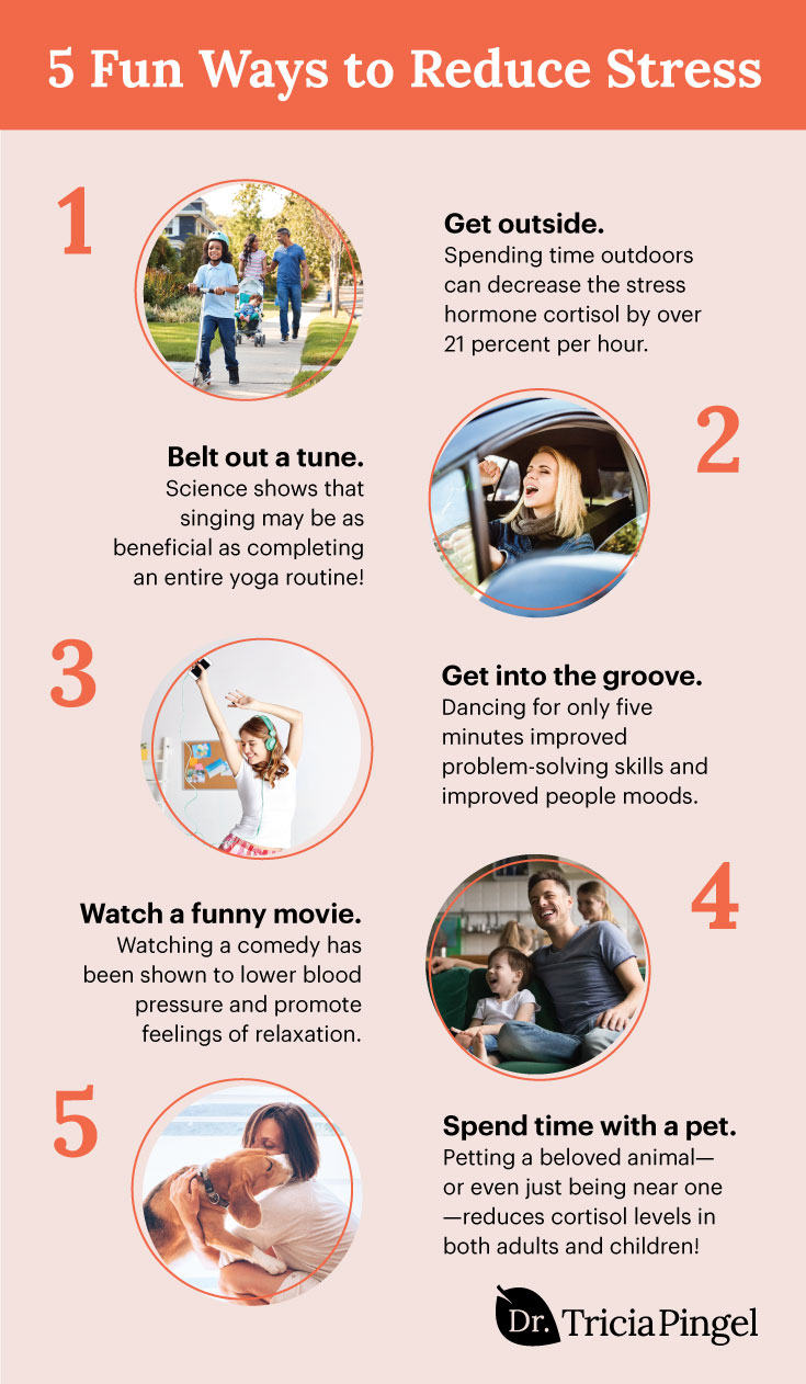 5 Fun Ways to Reduce Stress