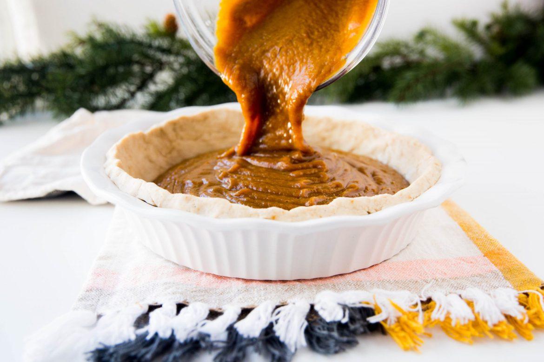 Gluten free pumpkin pie crust - Dr. Pingel