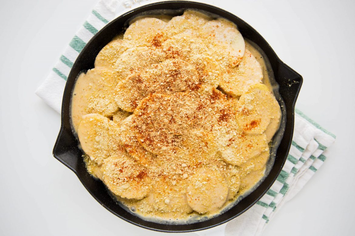 Scalloped potatoes recipe - Dr. Pingel