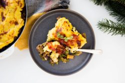 Leftover turkey shepherd's pie - Dr. Pingel