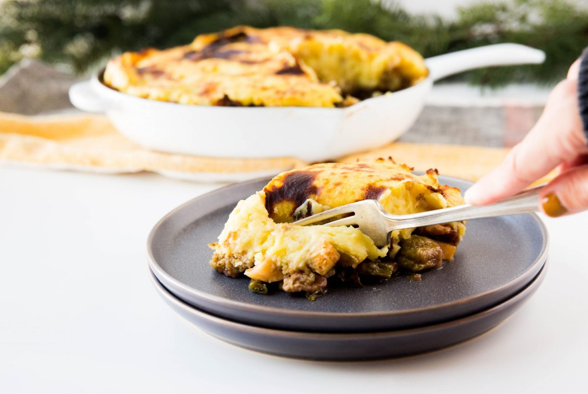 Leftover turkey shepherd's pie: ready to serve - Dr. Pingel