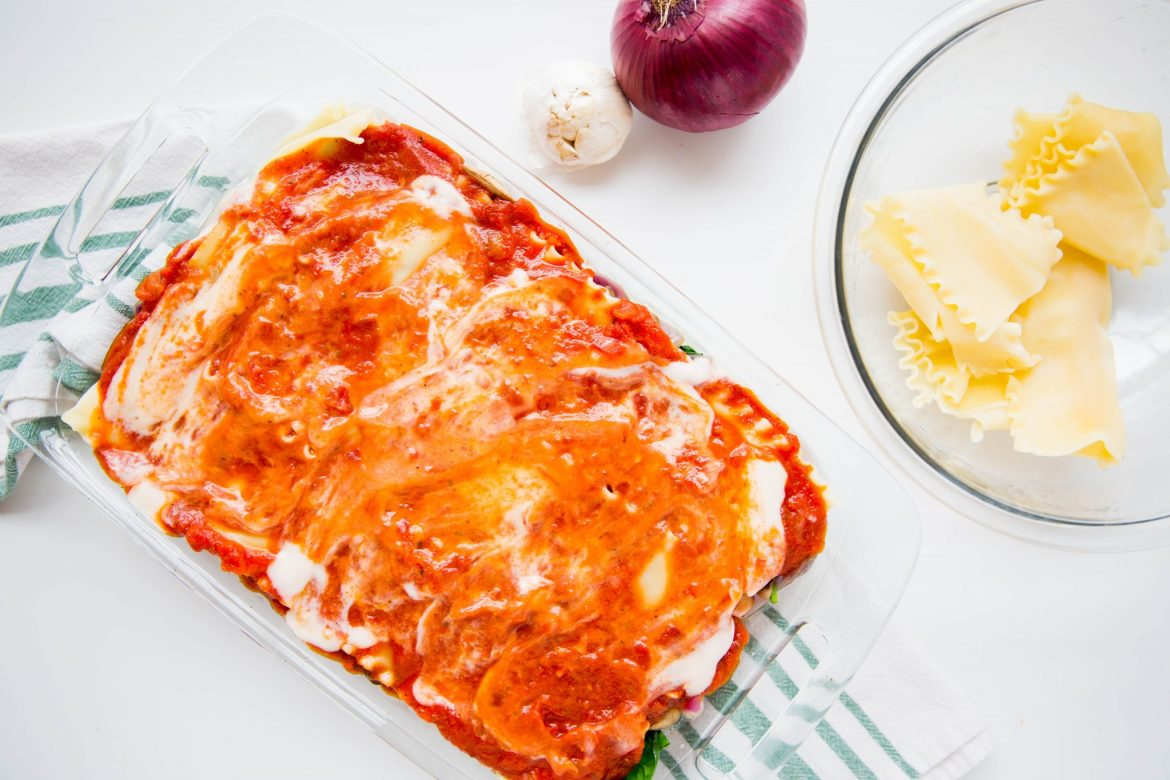 Sweet potato lasagna recipe - Dr. Pingel