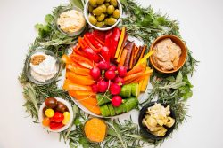 Charcuterie Platter Ideas: The Ultimate Charcuterie Wreath 1