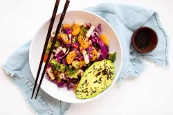 Asian chopped cabbage salad - Dr. Pingel