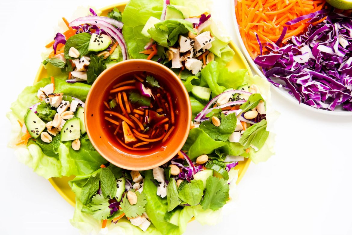 Easy lettuce wraps recipe - Dr. Pingel