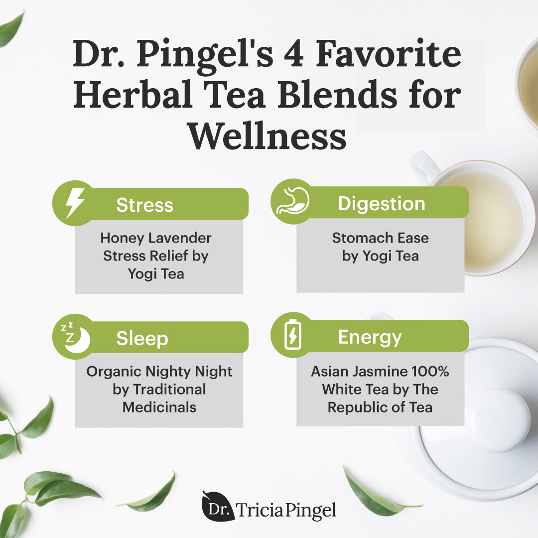 Herbal tea blends - Dr. Pingel