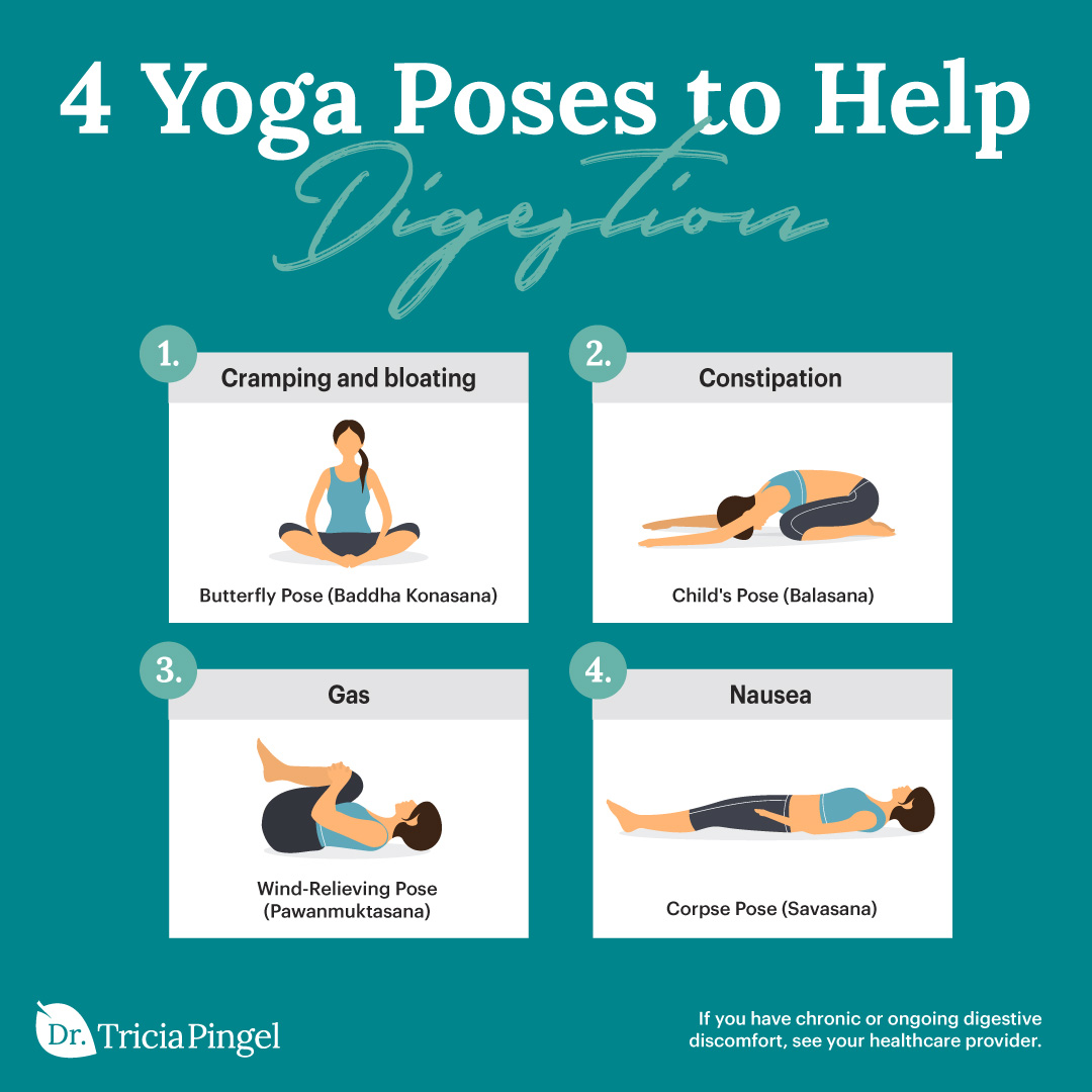 4 Yoga poses to help digestion - Dr. Pingel