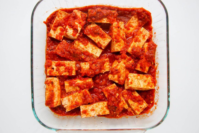 Harissa Tofu 1