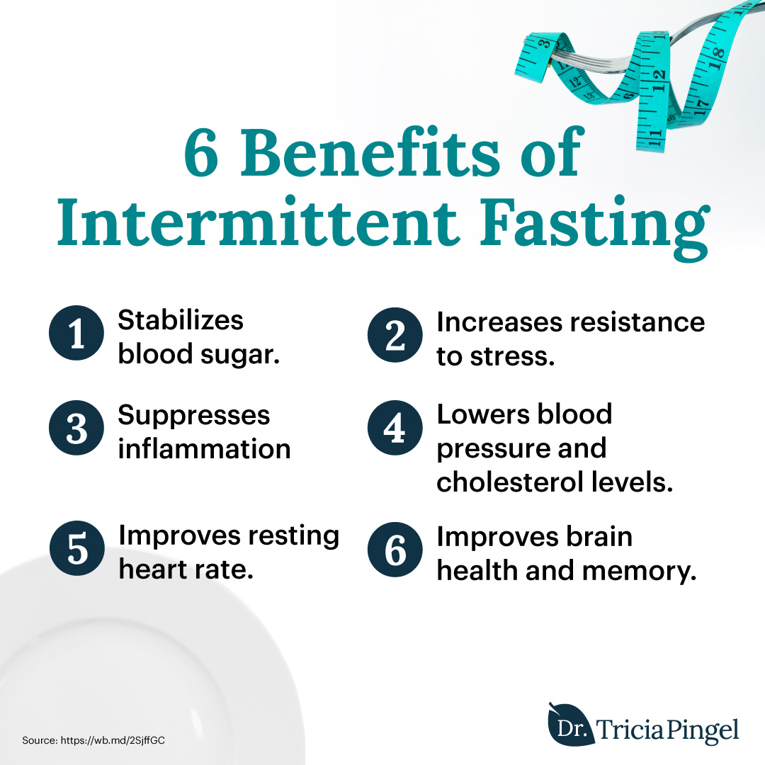 Health benefits of intermittent fasting - Dr. Pingel