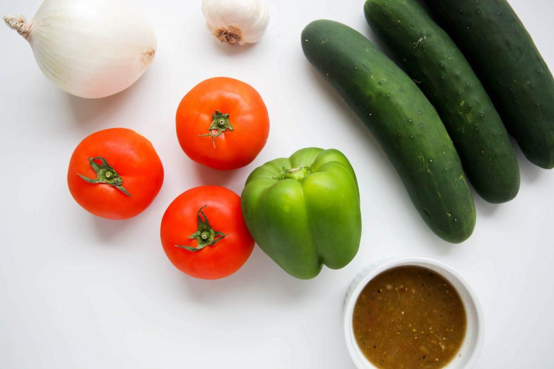 Cucumber gazpacho - Dr. Pingel