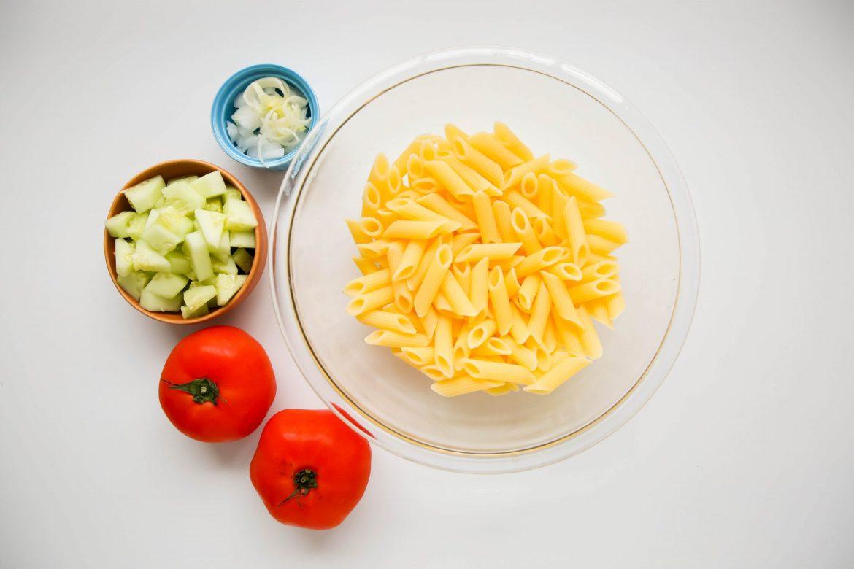 Vegan pasta primavera - Dr. Pingel