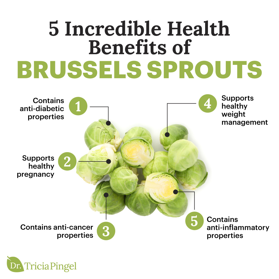 Why You Need to Eat Your Brussels Sprouts (5 Brussels Sprouts Benefits) 1