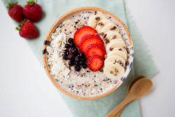 Blueberry Vanilla Quinoa Bowl 1