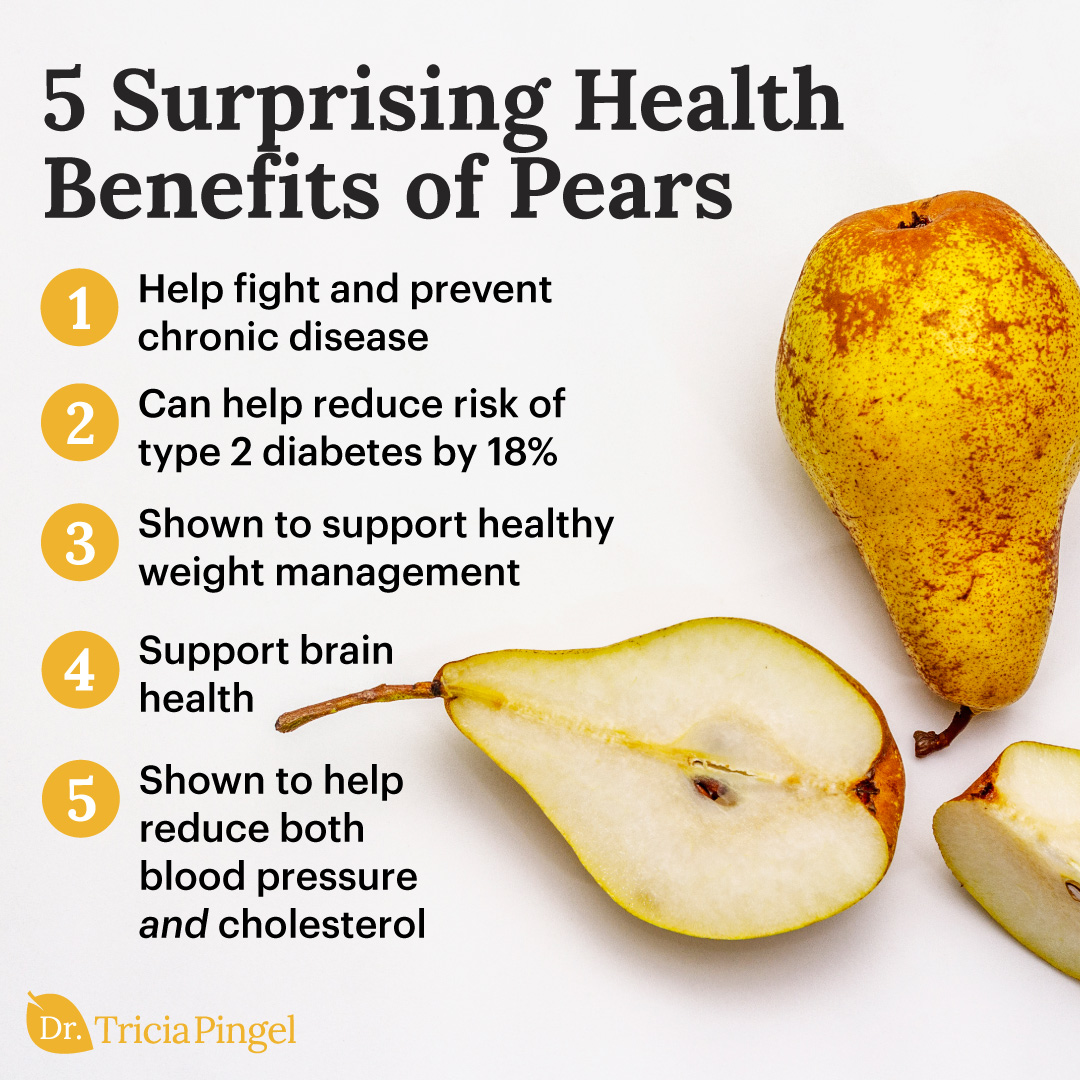 Benefits of eating pears - Dr. Pingel