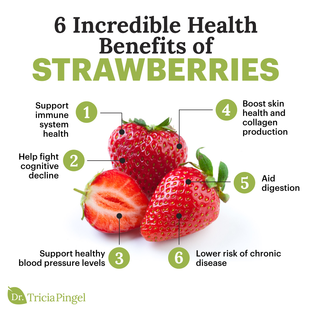 Strawberry benefits - Dr. Pingel
