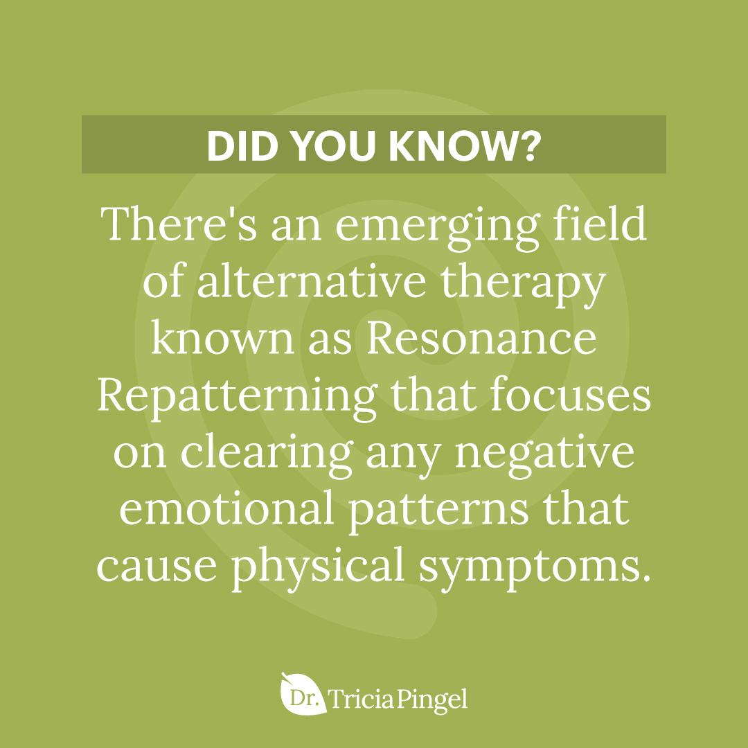 Resonance repatterning - Dr. Pingel