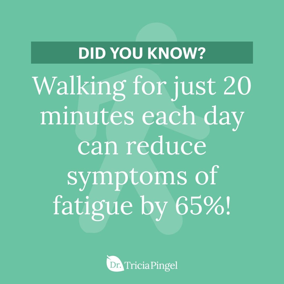 Benefits of walking - Dr. Pingel