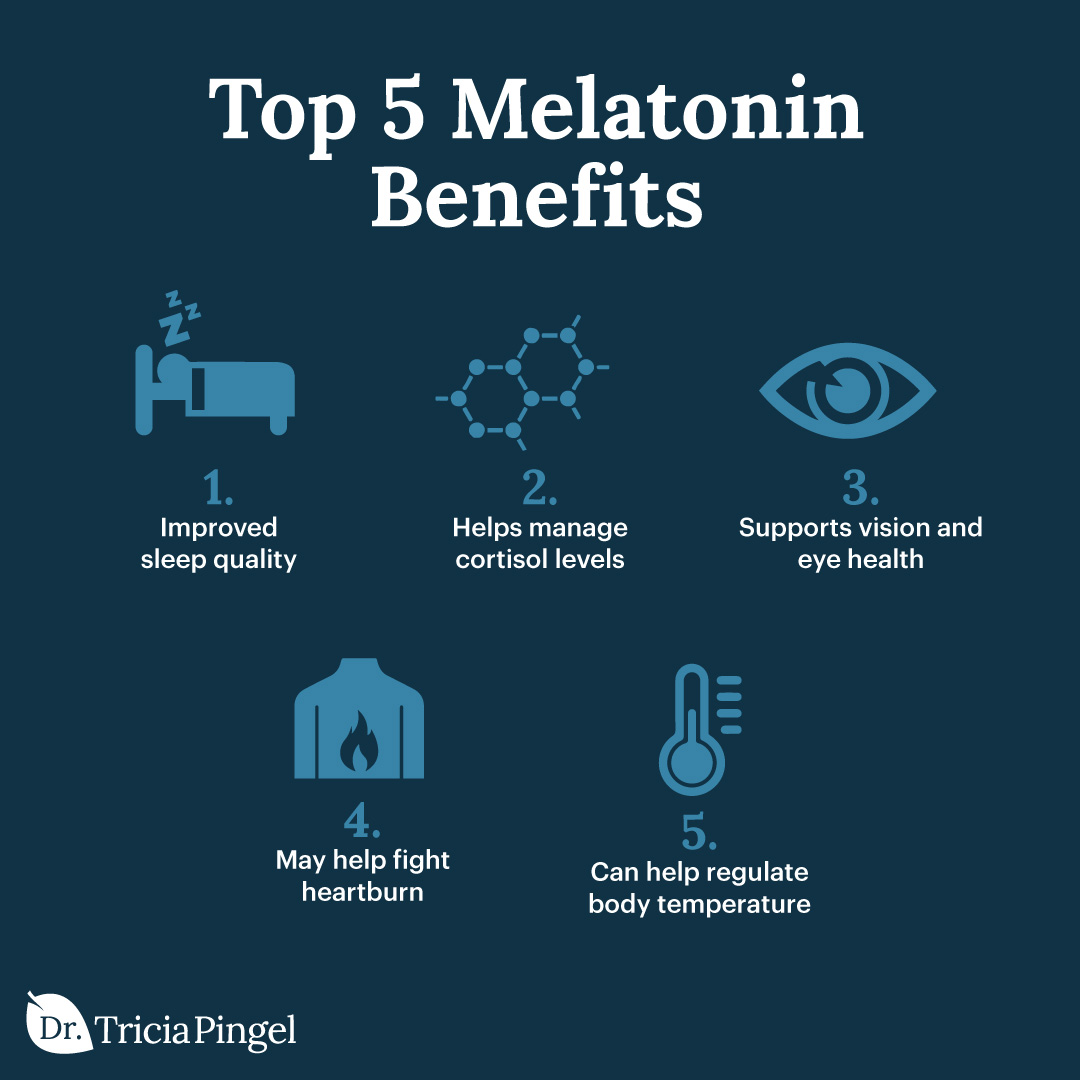 Melatonin benefits - Dr. Pingel