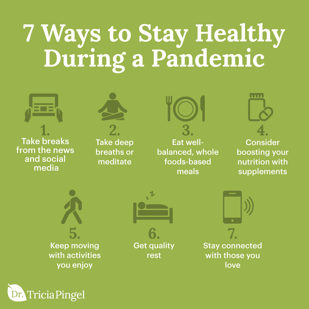 Ways to stay healthy - Dr. Pingel