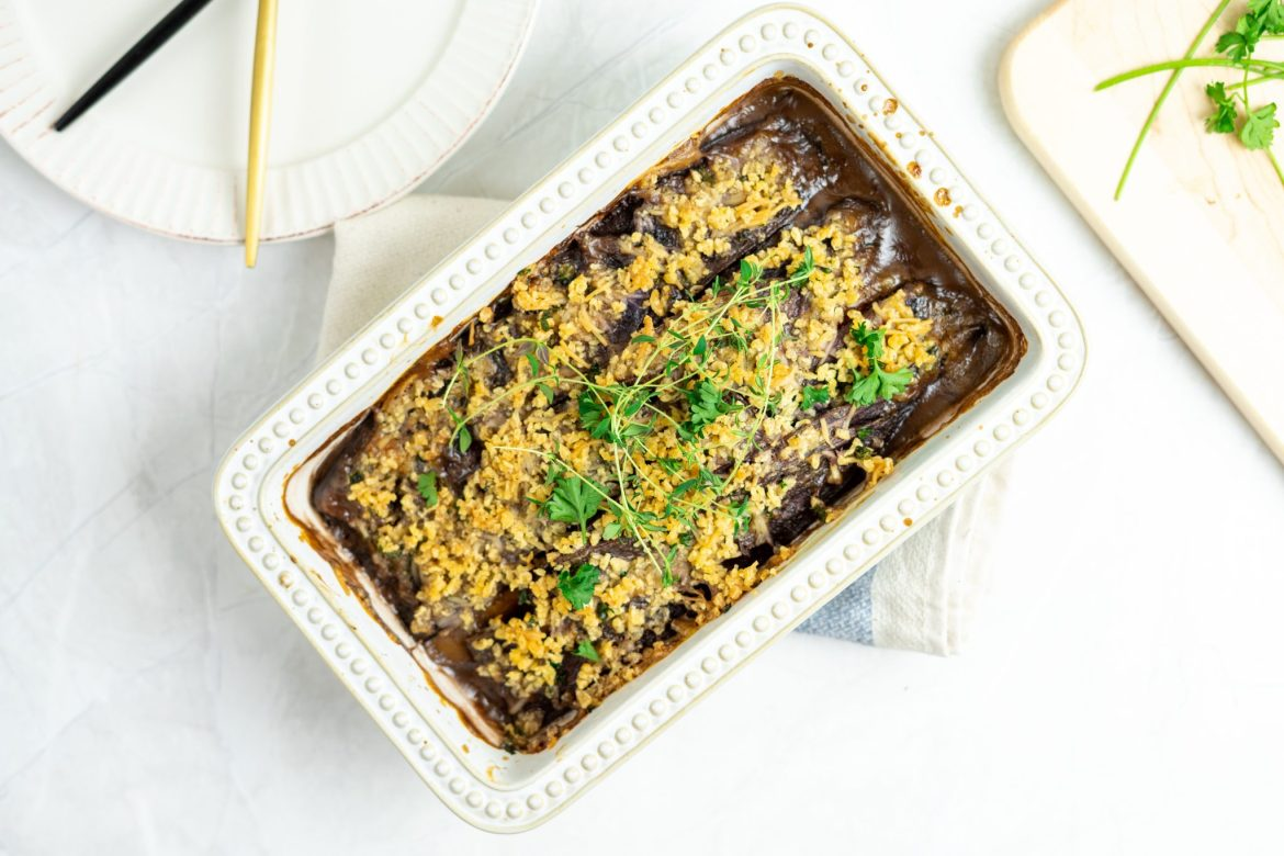 Root vegetable au gratin - Dr. Pingel
