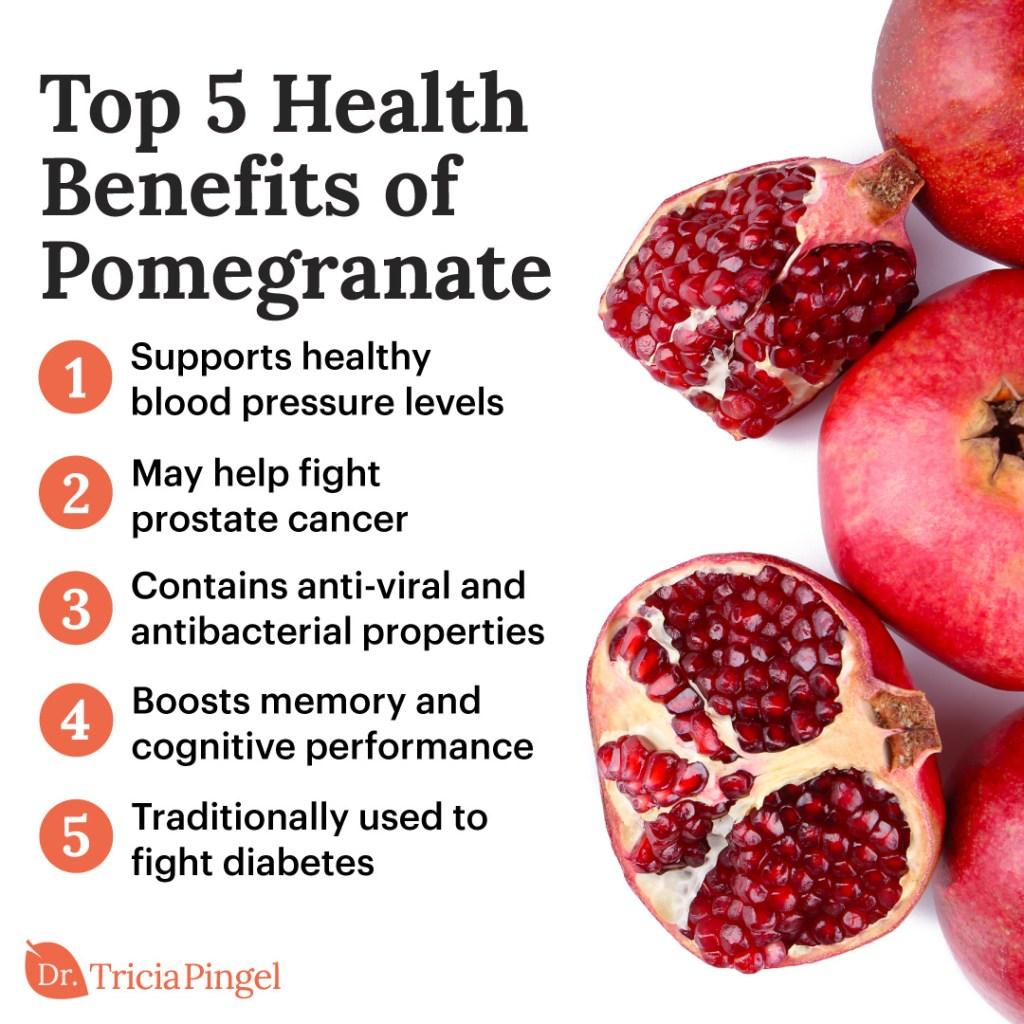 Pomegranate nutritional benefits - Dr. Pingel