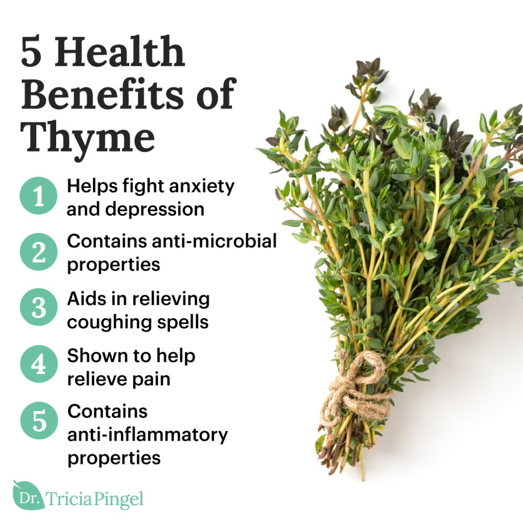 Thyme health benefits - Dr. Pingel