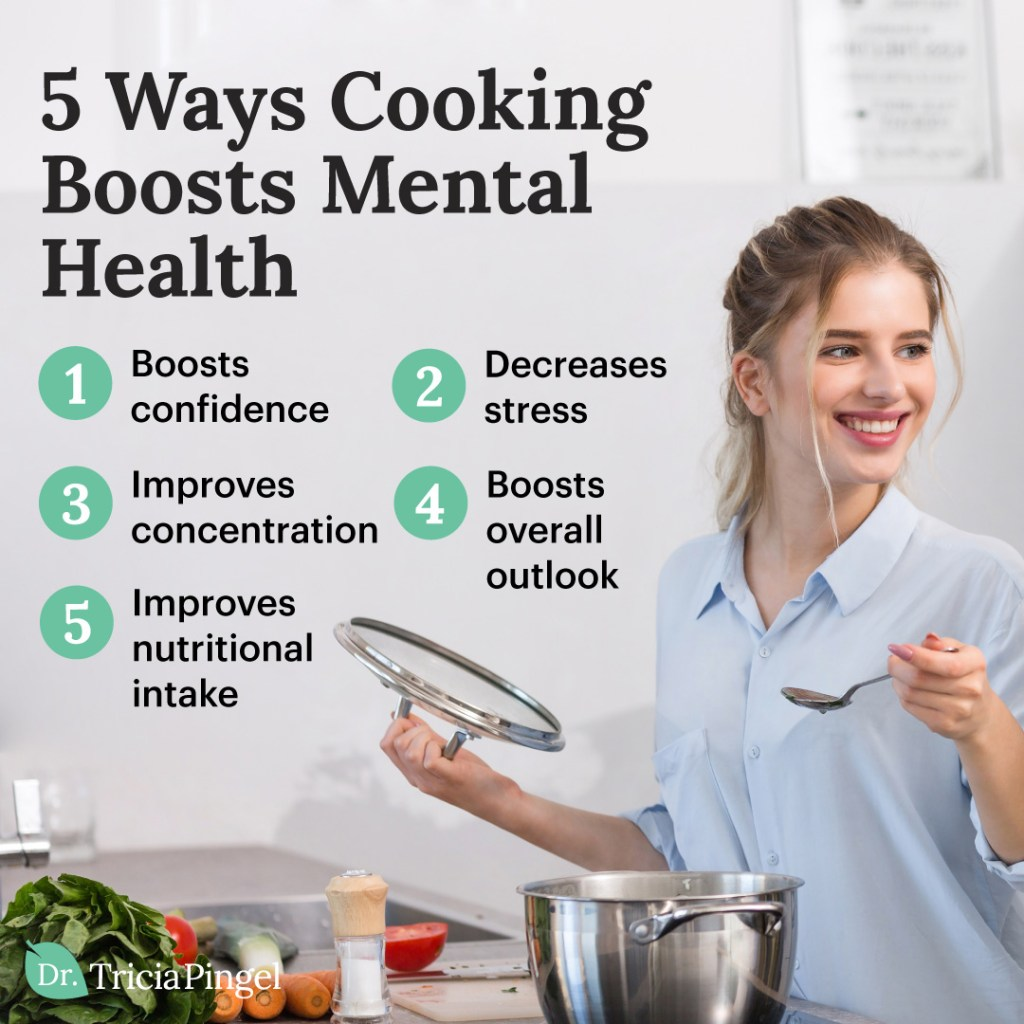 Cooking as a stress reliever - Dr. Pingel