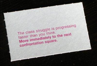 Class Struggle card 1