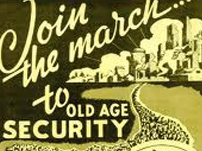Social Security march flier