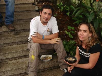 Marcelo (DjLu), Catalina, y Sancocho