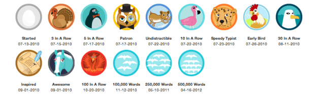 gilda's badges