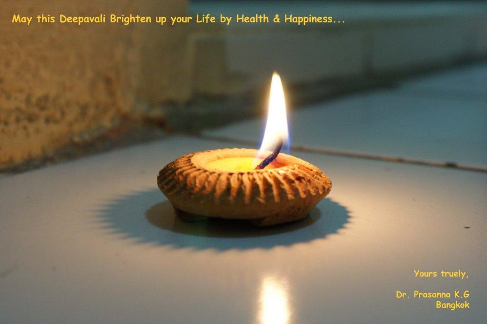 Happy Diwali...!