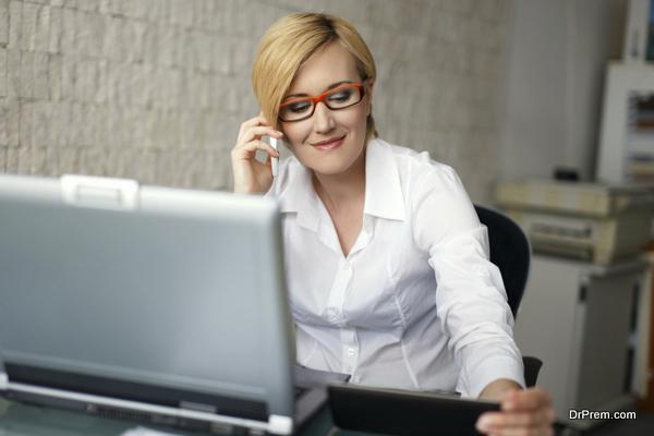 attending personal calls