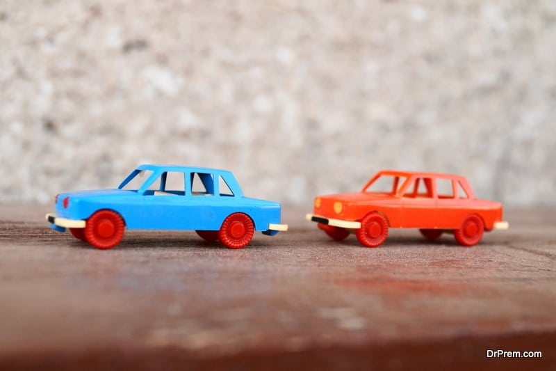 Toy-car-painting
