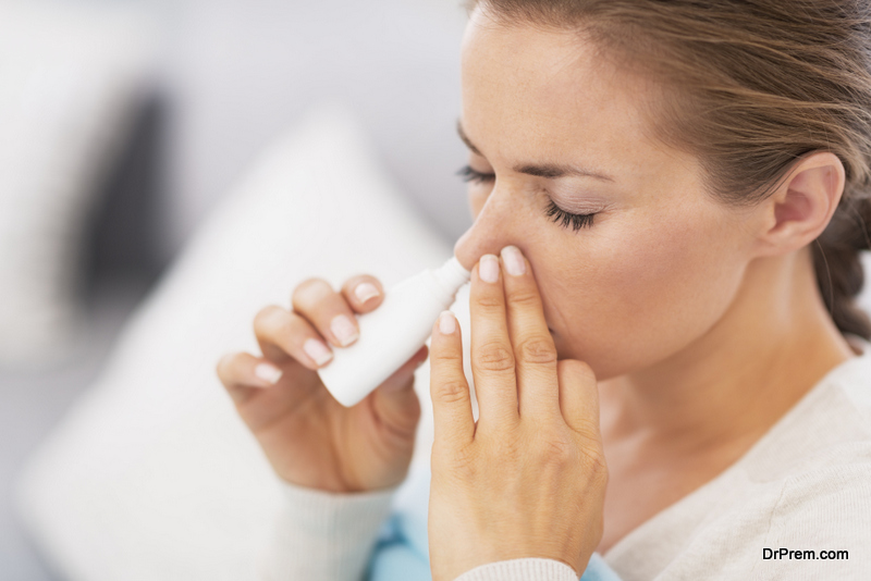 It irritates the nasal cavity